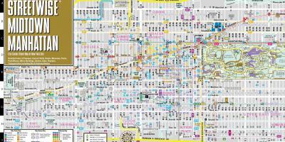Karte Manhattan Pdf.Manhattan Map Karten In Manhattan New York Usa